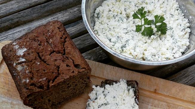 Fromage aux herbes façon boursin bio & fait maison