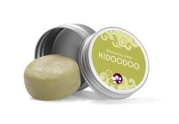 Shampooing solide pour enfants Kidoodoo dans sa boite