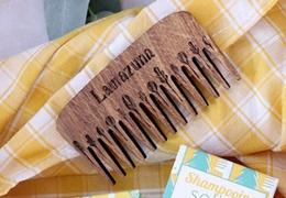 Peigne de poche en bois Lamazuna