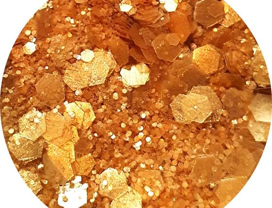 Paillettes cosmétiques biodégradables Queen du désert
