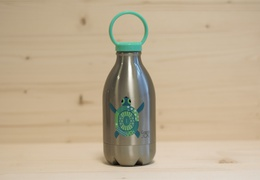Gourde en inox 450ml Loopy tortue