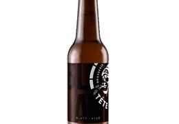 """Bière noire """"Black Lager"""" 33cl bio & locale"""