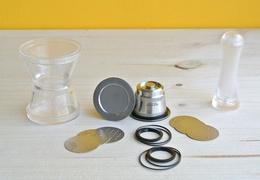 Kit 1 capsule à café Nespresso en inox