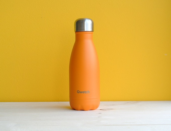 Bouteille inox 260 ml isotherme orange pop