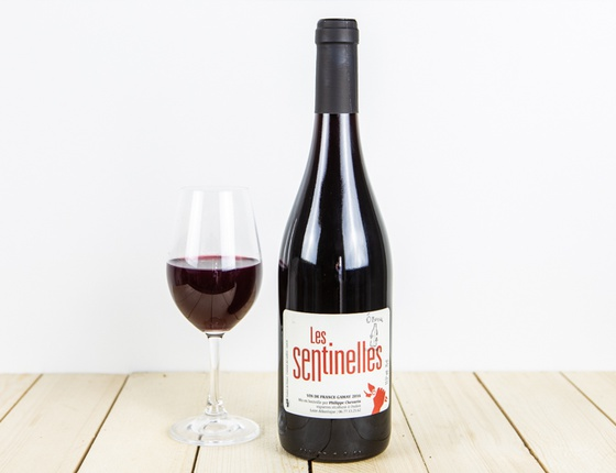 "Vin Philippe Chevarin rouge ""Les Sentinelles"" naturel & local"