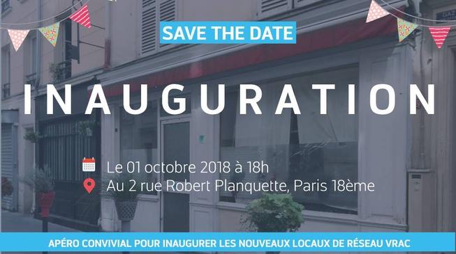 Inauguration des locaux de Réseau Vrac