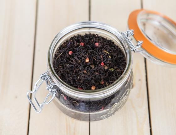 Thé noir bio aux fruits rouges