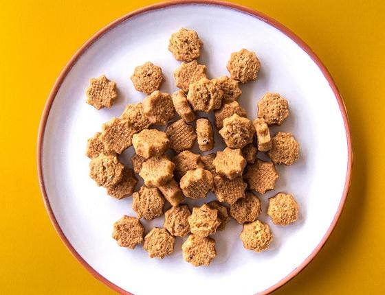 Biscuits apéro curry bio, local & vegan