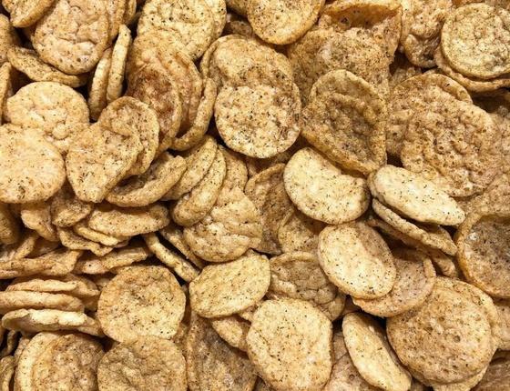 Chips crackers de lentilles bio thym sauvage & romarin