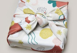 Furoshiki emballage cadeau réutilisable motif Terra