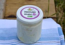 Fromage blanc au lait cru de vache bio & local