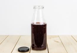 Vinaigre de vin rouge à la framboise bio