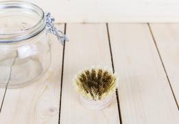 Brosse vaisselle fibre & laiton : la recharge