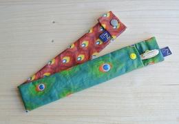 Pochette de brosse à dents en coton ciré