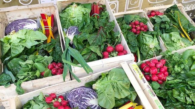 Distribution de paniers de légumes bio & locaux !