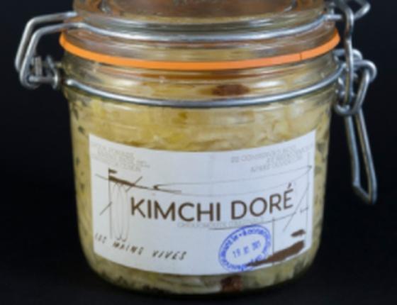 Kimchi doré