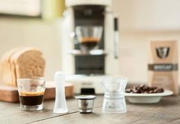 Capsules à café en inox - kit 2 capsules