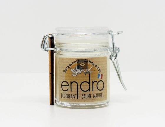 Déodorant baume naturel bergamote
