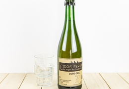 Cidre demi-sec bio & local