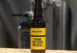 "Bière brasserie Les Brassés ""Thank you very mousse"" 33cl bio & locale"