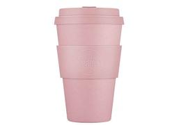 Tasse à café en bambou 400 ml coloris rose