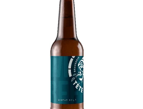 """Bière blanche """"Wheat"""" 33cl bio & locale"""