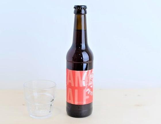 """Bière Brasserie Tête Haute ambrée """"Amber Ale"""" 75cl bio & locale"""