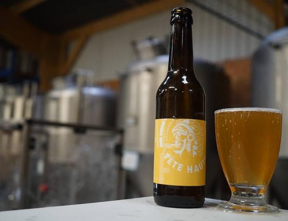 "Bière Brasserie Tête Haute blonde ""Pale Ale"" 75cl bio & locale"