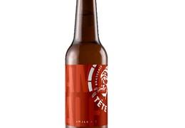 """Bière ambrée """"Amber Ale"""" 33cl bio & locale"""