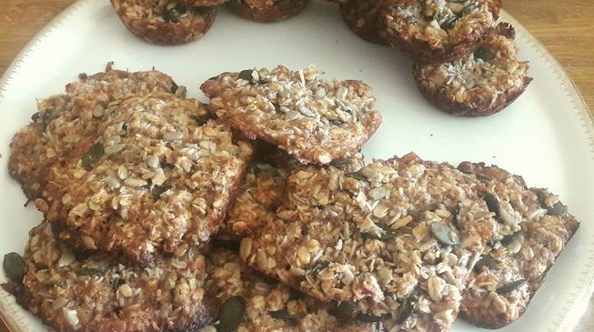Les biscuits aux graines bio de Nathalie
