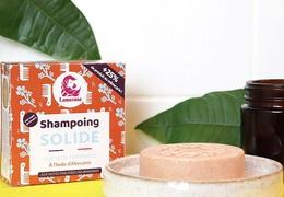 Shampooing solide Lamazuna pour cheveux normaux sans huile essentielle