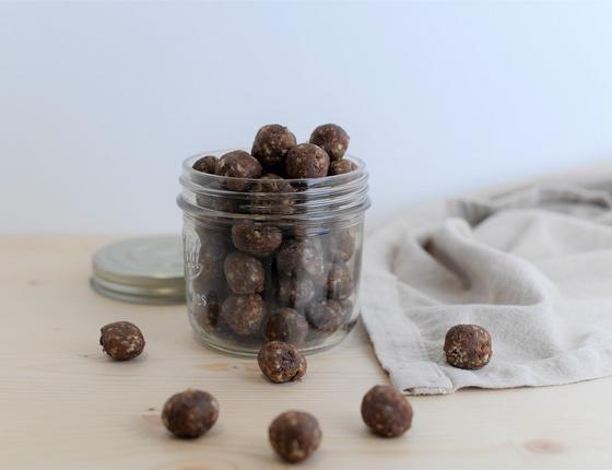 Energy balls bio cacao & noisette