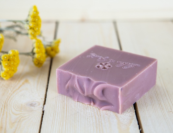 Savon artisanal Argan - Argile rose local