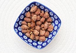 Chouchous bio à la cacahuète