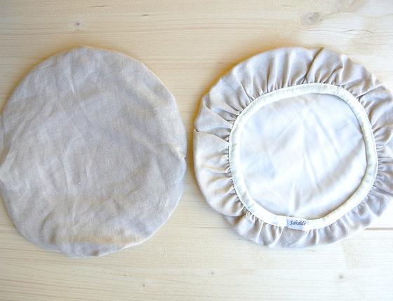 Couvre-plat 25 cm en lin