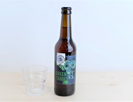 "Bière Brasserie Tête Haute IPA ""Green Target"" 75cl bio & locale"