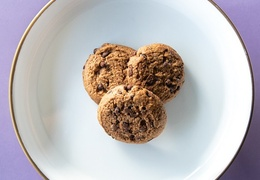 Cookie aux pépites de chocolat bio, local & vegan