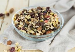 Mélange grano fruits bio