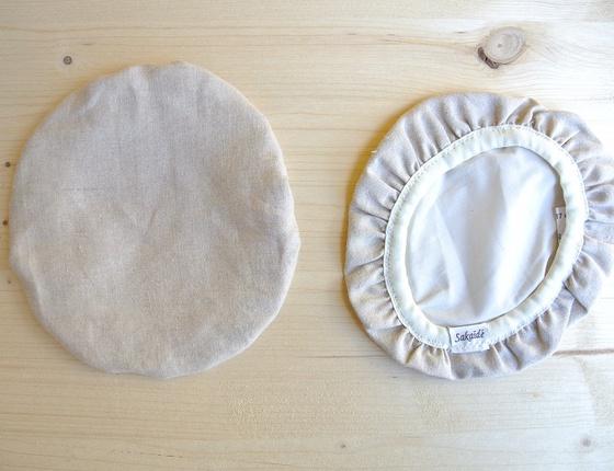Couvre-plat 17 cm en lin