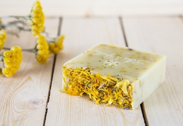 Savon artisanal Calendula nature local