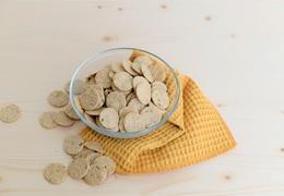 Biscuits apéro huile d'olive & cumin bio, local & vegan