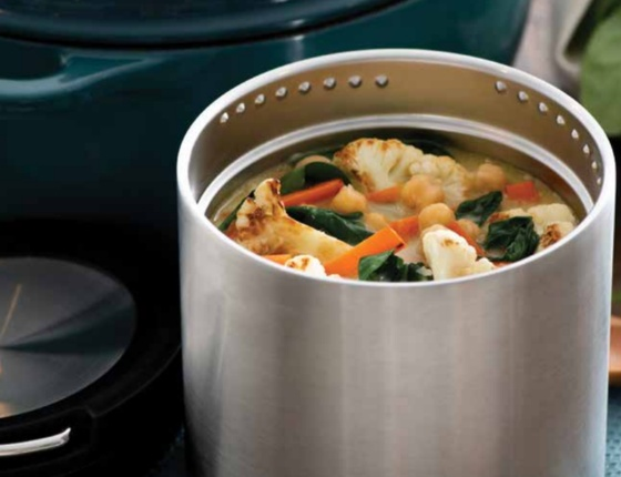 Boîte repas inox isotherme 946 ml avec anse