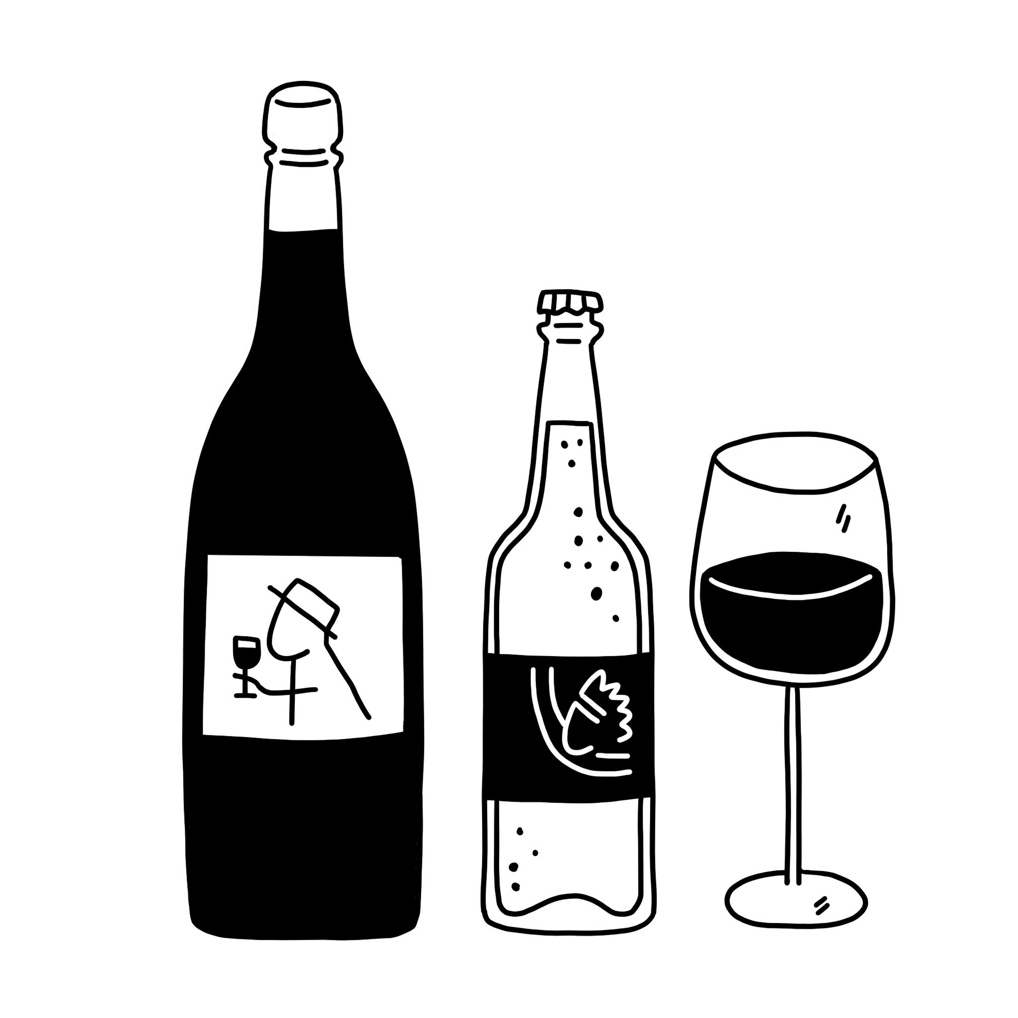 Vins, bières & spiritueux