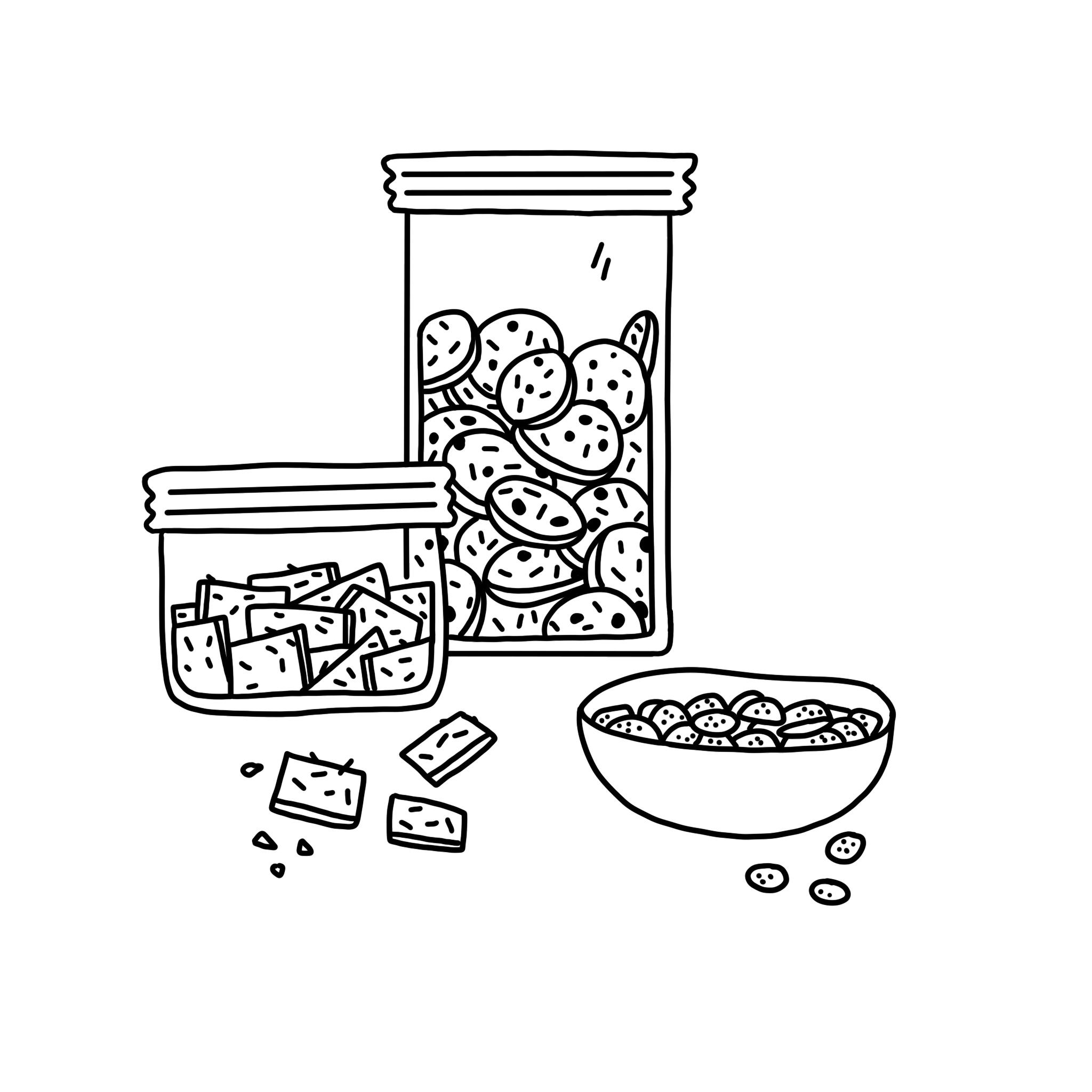 Biscuits salés & apéro