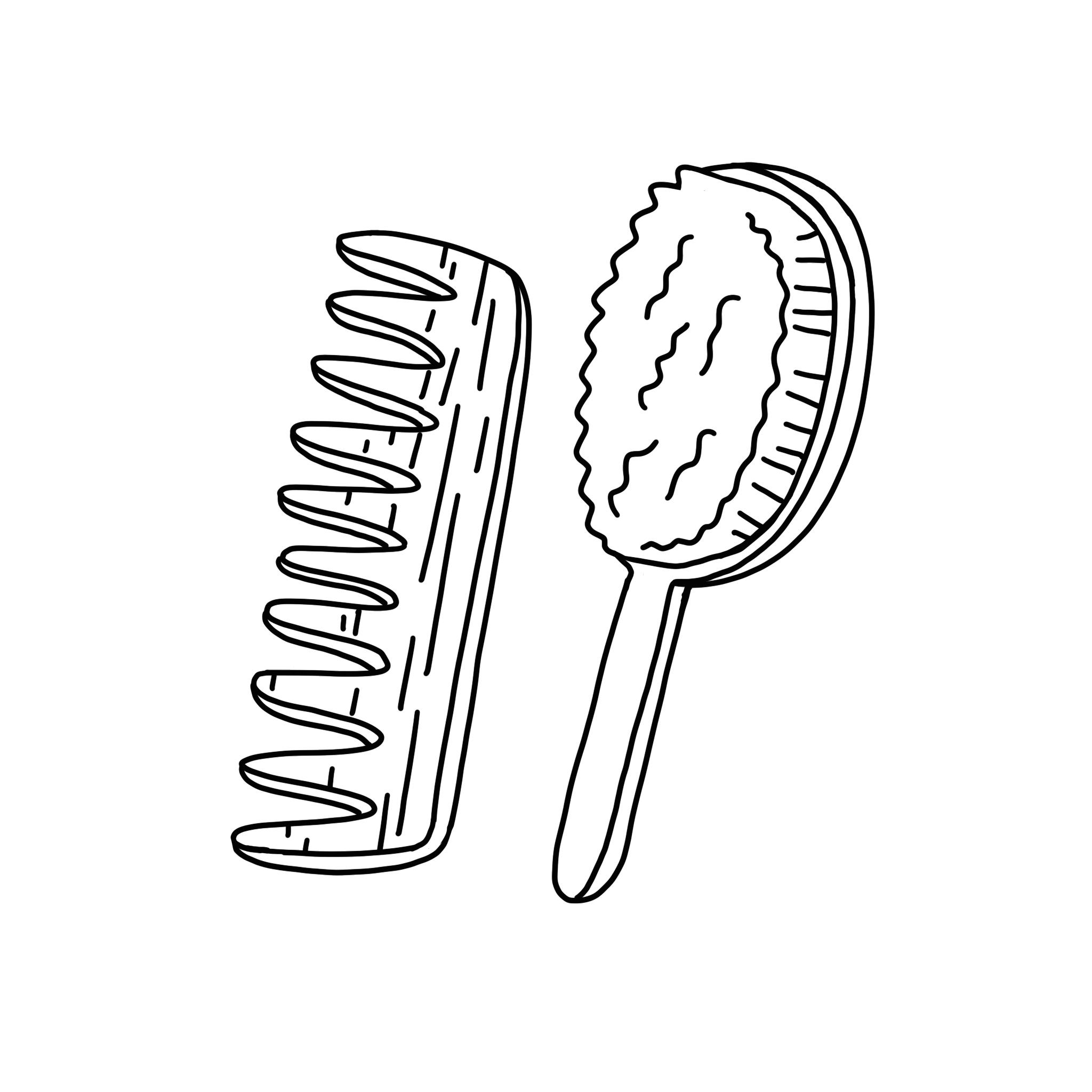 Brosses à cheveux & corps