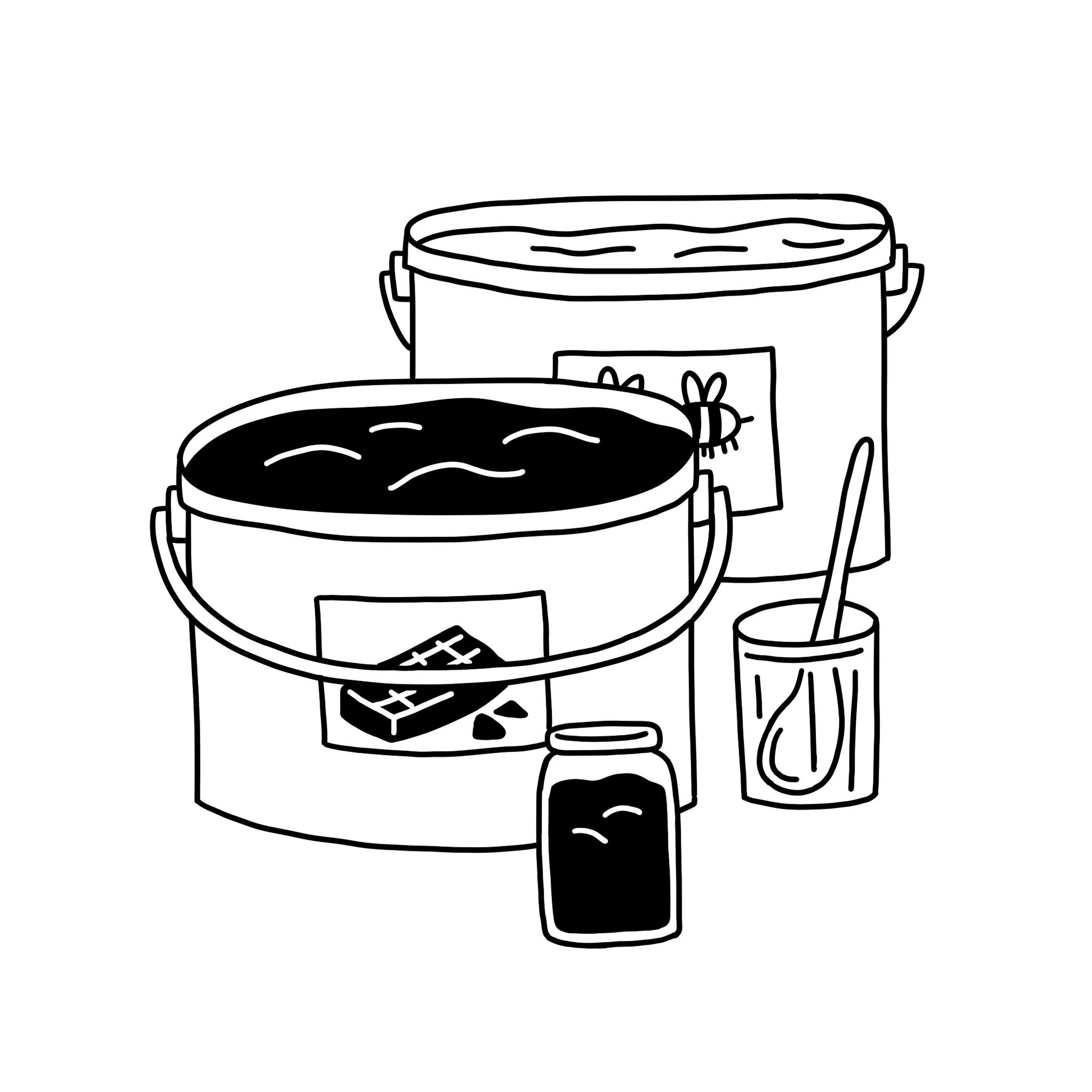 Miels & pâtes à tartiner