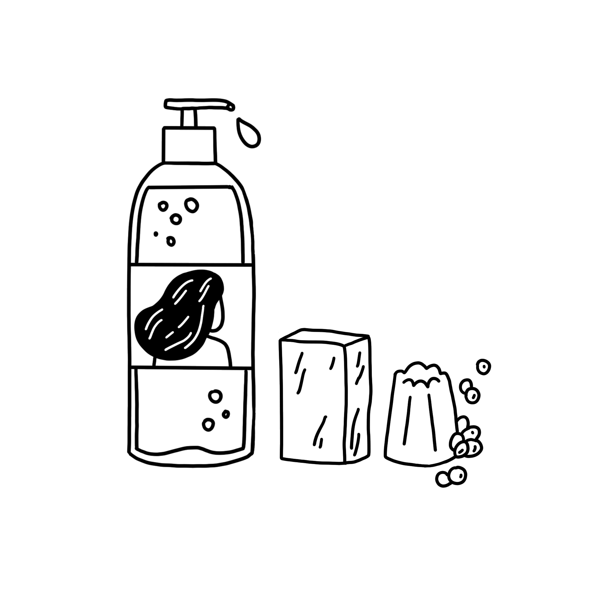 Shampooings solides & liquides