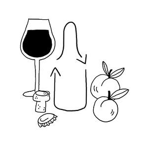 Vins, bières et jus en bouteilles consignées