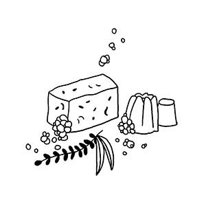 Cosmétiques, shampooings solides & savons pour le corps