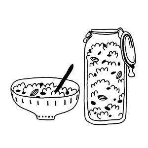 Céréales, biscuits & petit-déjeuner
